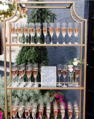 Gold Champagne Shelf