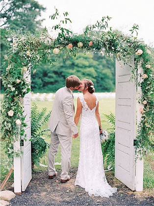 White Wedding Doors