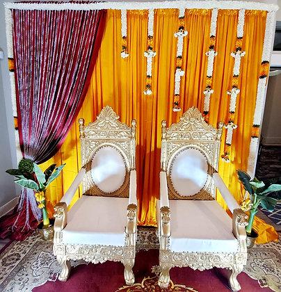 Throne Chair Set