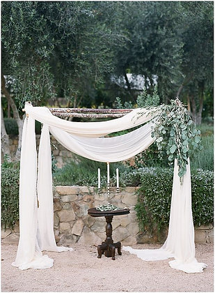 Chiffon Arch Fabric Drape