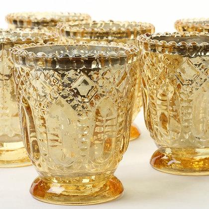 Antique Style Gold Votive