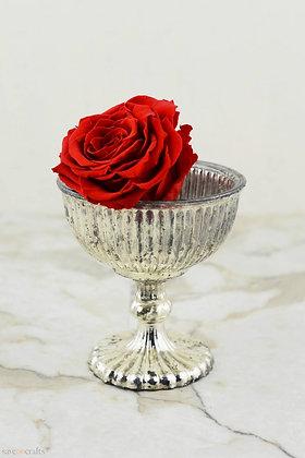 Silver Pedestal Vase