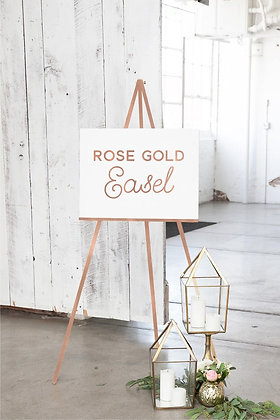 Rose Gold Easel