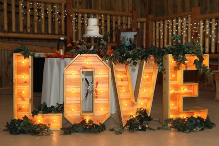Love Marquee Sign