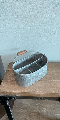 Galvanized Decor Small Sectional Bucket