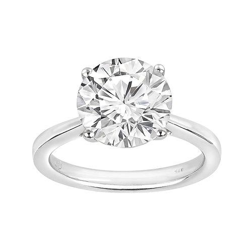 Platinum 3.00CT Diamond Engagement Ring