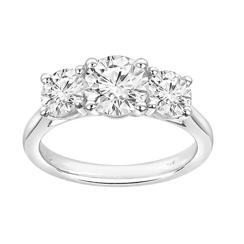 Trilogy Diamond Ring 0.50ct to 4.00ct