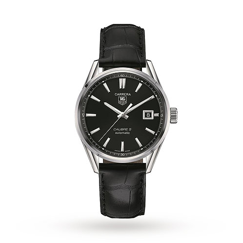 TAG Heuer Carrera Calibre 5 Automatic Watch - WAR211A