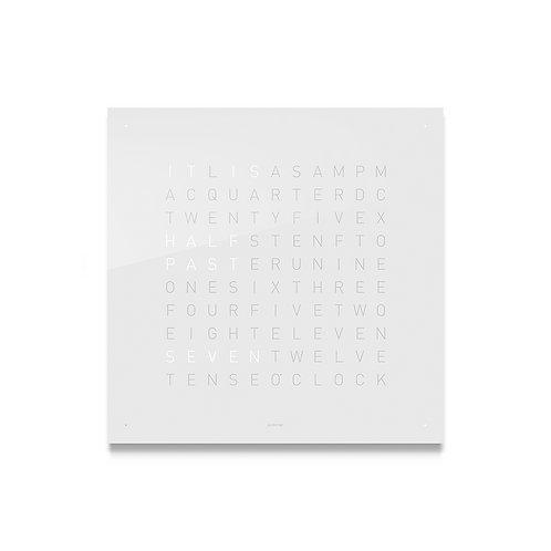 QLOCKTWO Classic Acrylic Clock - Vanilla Sugar
