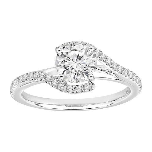 Diamond Twist Ring 0.55ct to 1.25ct