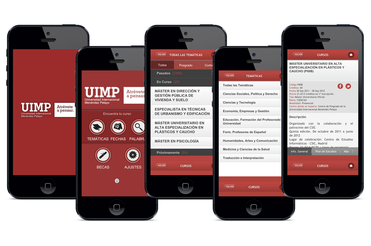 APP Universidad UIMP