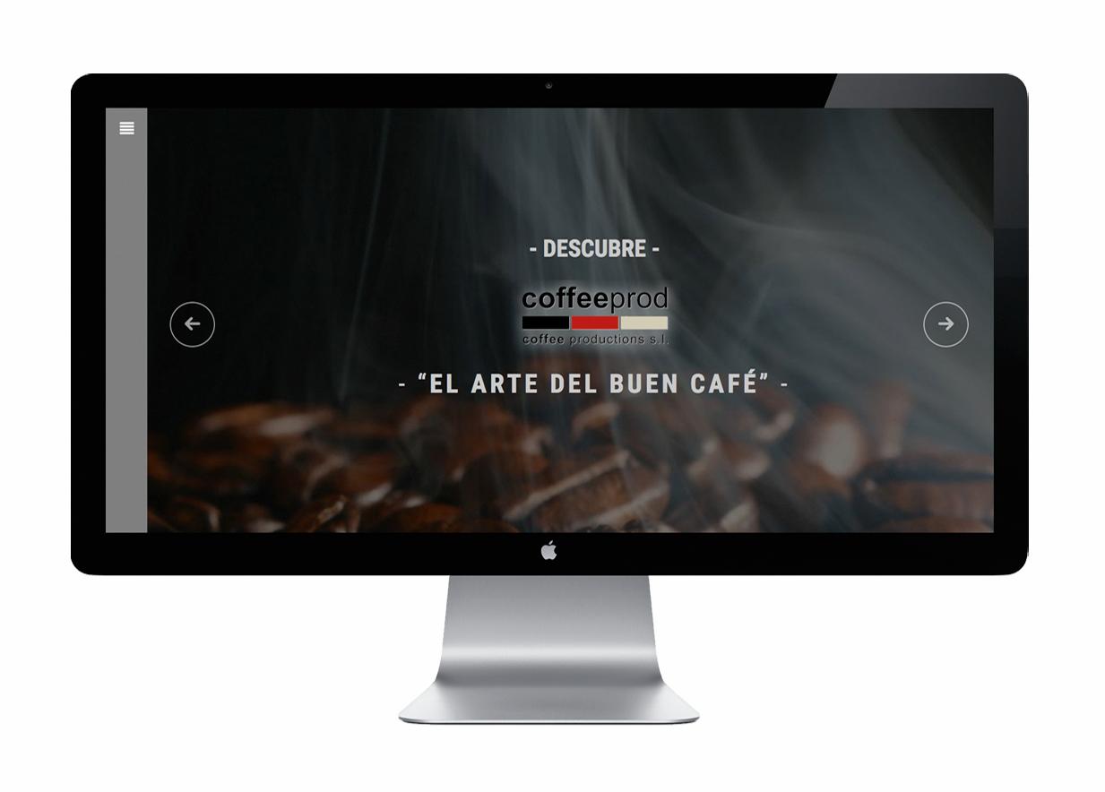 Web Corporativa Coffeeprod