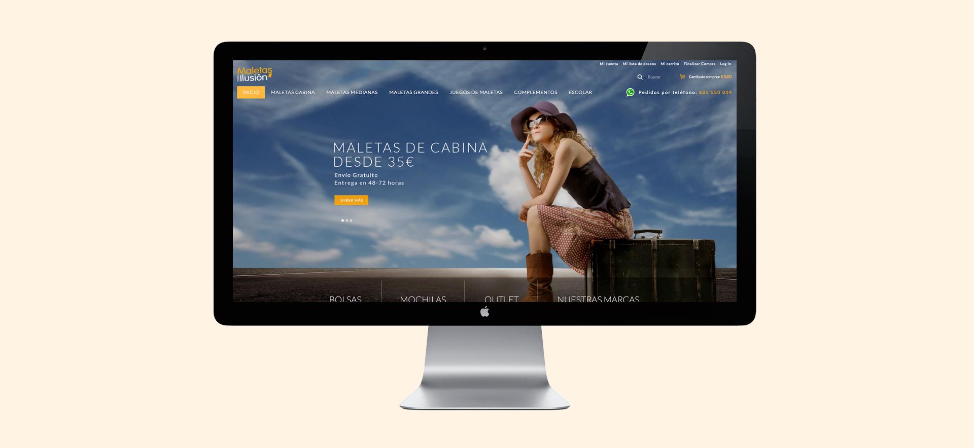 Tienda online Maletas