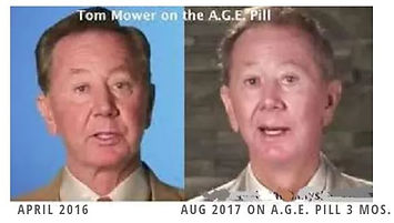Sisel CEO Tom Mower growing younger fro the AGE PILL