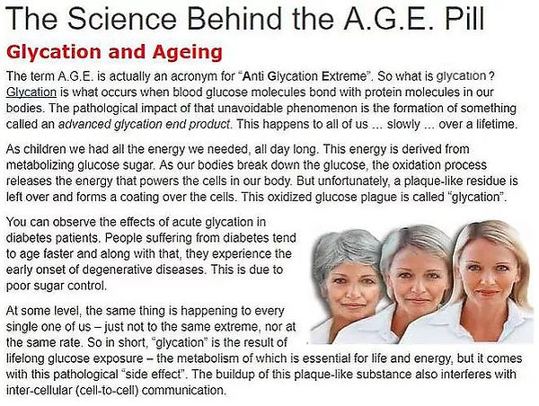 Cellular glycation and ageing