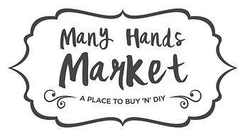 Many Hands Market 2016. A place to buy 'n' DIY