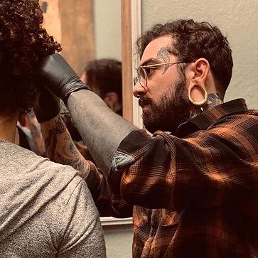 Jake Jacob Hardman Drift Piercing Studios Orlando Best Piercing Shop UCF Knights BVLA APP Piercer Member