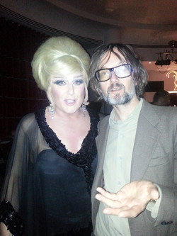 With Jarvis Cocker