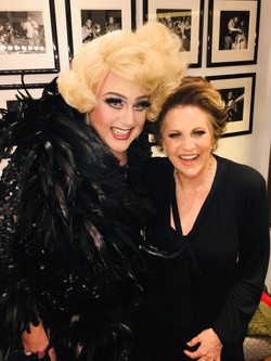 with Lorna Luft