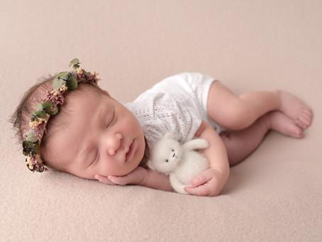 Séance photo naissance de bébé R.