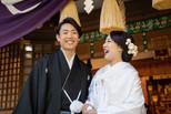神社結婚式のモデルに抜擢されました!