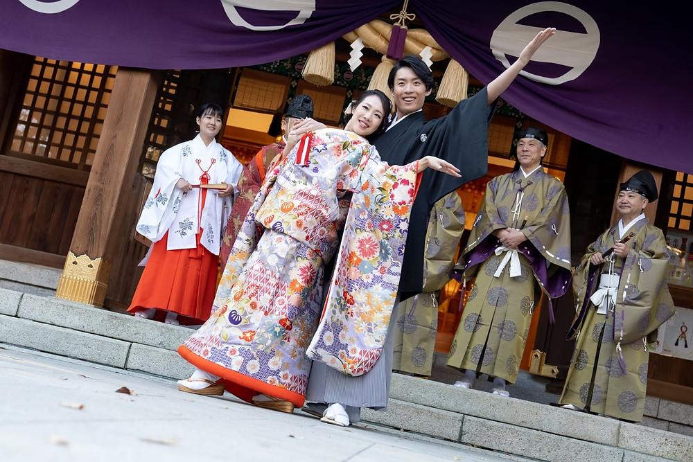 撮影は東京・大田区にある新田神社で行われました。