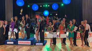 Bonn Open and World Latin show dance championship