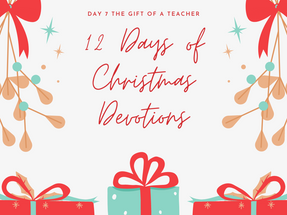 The Gift of a Teacher