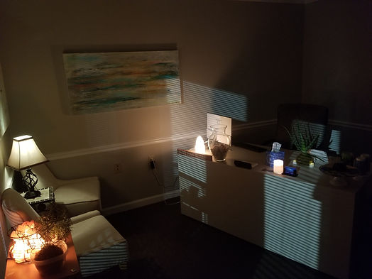 The front desk at Divine Harmony Massage Therapy