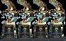 Golden Galaxy Film Festival Award Trophies