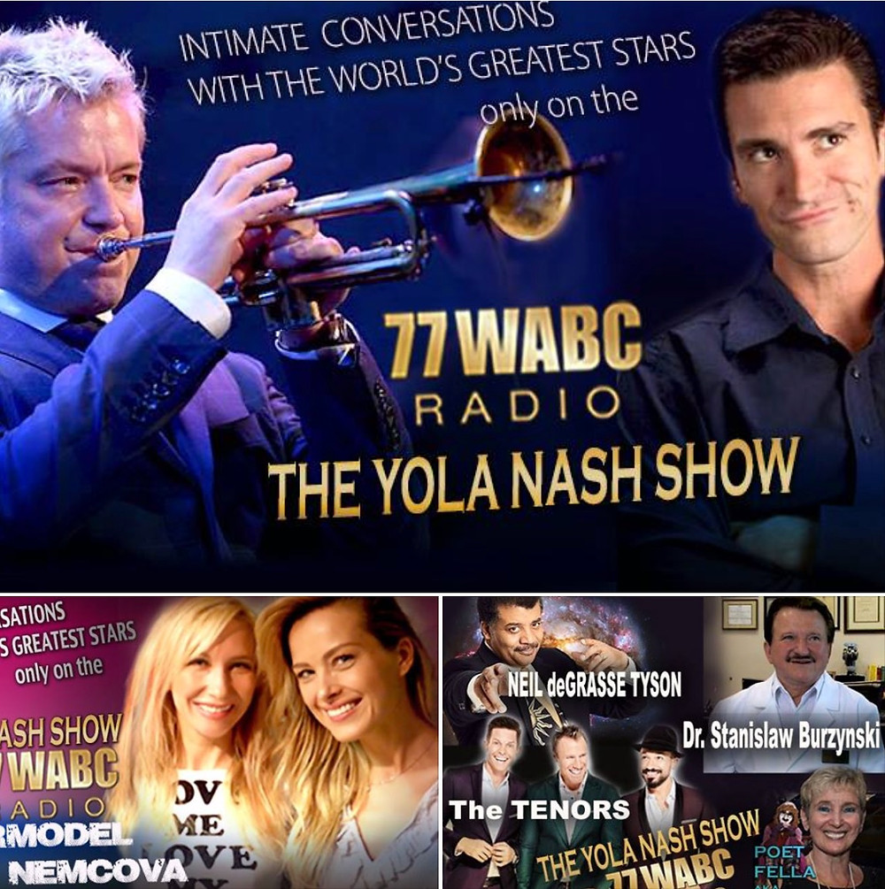 MahnoDahno on 77WABC 's The Yola Nash Show