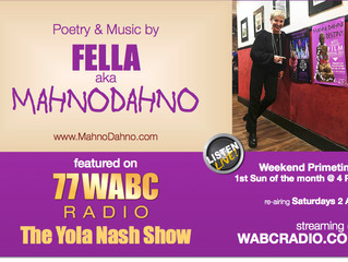 More info about MahnoDahno on WABC Radio