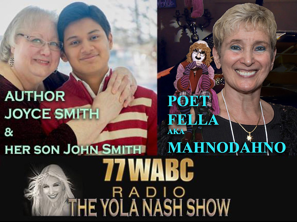 Yola Nash Show on WABC Featuring MahnoDahno