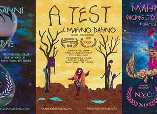 MahnoDahno will be featured AGAIN in the 2019 NYC Independent Film Festival