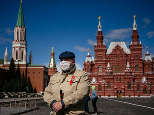 रूस नए मामलों की संख्या में 10,000 से अधिक की वृद्धि हुई है। अब मरने वालों की कुल संख्या 1,723 है।