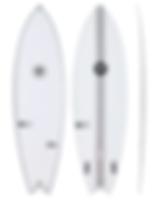 7 surf Boards - Hook