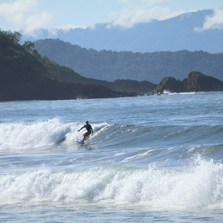 What makes the surf so good in Morrillo?