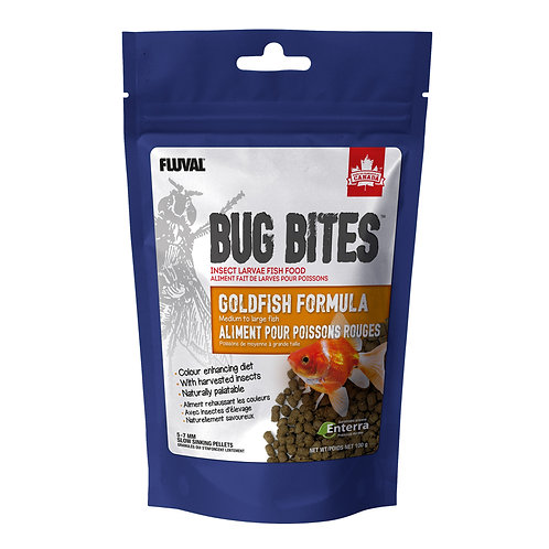 Bug Bites Goldfish Pellets (M-L), 100 g (3.5 oz)