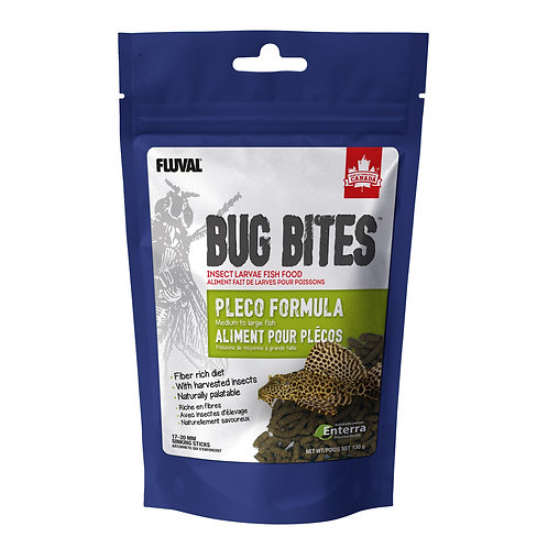 Bug Bites Pleco Sticks (M-L), 130 g (4.6 oz)
