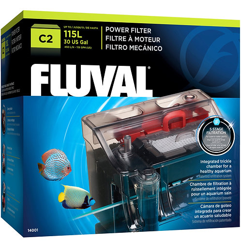 C2 Power Filter, up to 30 US Gal (115 L)