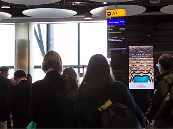 London Heathrow Airport Campaign of Raja