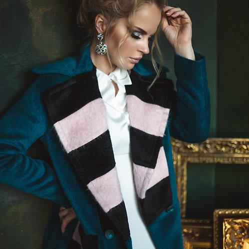 Пальто из альпаки в стиле MaxMara
