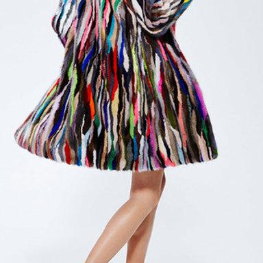 Шуба из меха норки Yves Saint Laurent
