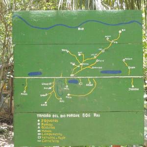 A map of camp, circa 2011 © Laura Coleman