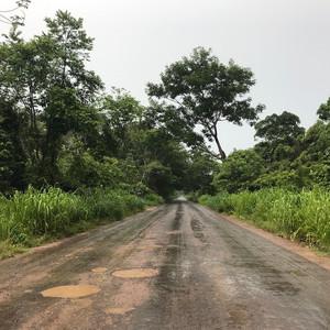 The road in rainy season, 2017 © Laura Coleman