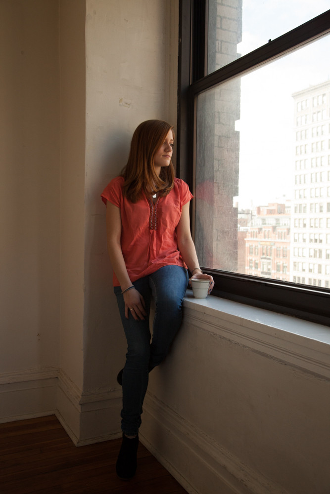 A picture from the photo shoot...