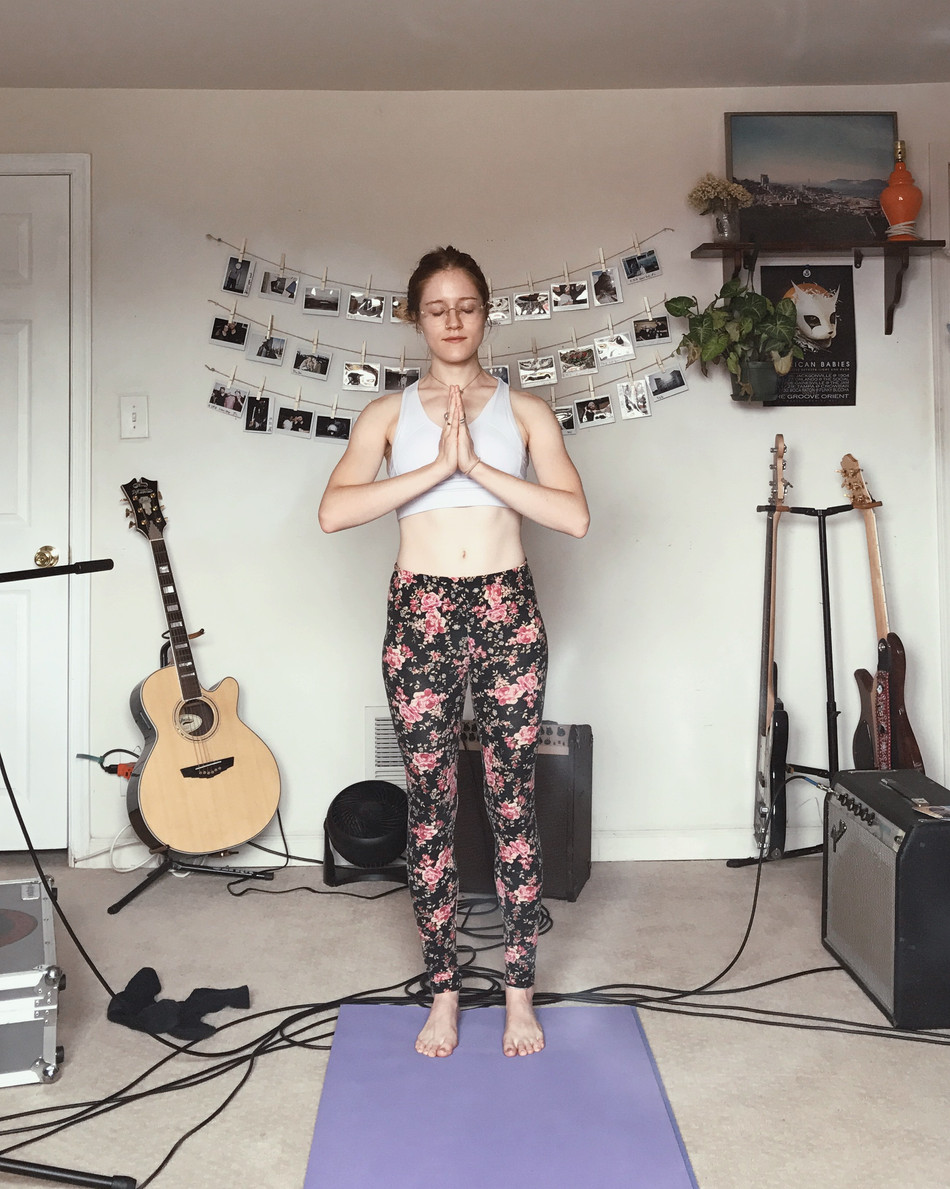 "My ""At Home"" Yoga Routine"