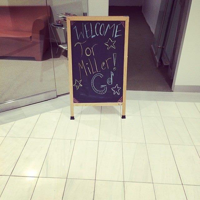 Tor Miller Sign