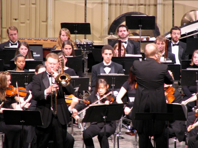 Larsson Concertino with JMU Symphony