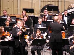 Larsson Concertino with JMU Symphony